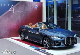 Giới thiệu BMW 4-Series Convertible 2022: mui trần sành điệu cho đại gia Việt