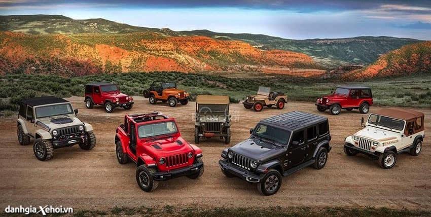 Bảng giá xe Ô tô Jeep mới nhất tháng 04/2021