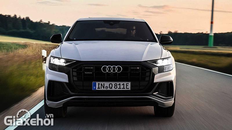 Chi tiết chiếc SUV Coupe Audi Q8 TFSI e quattro 2022 - Mạnh mẽ hơn, đẳng cấp hơn