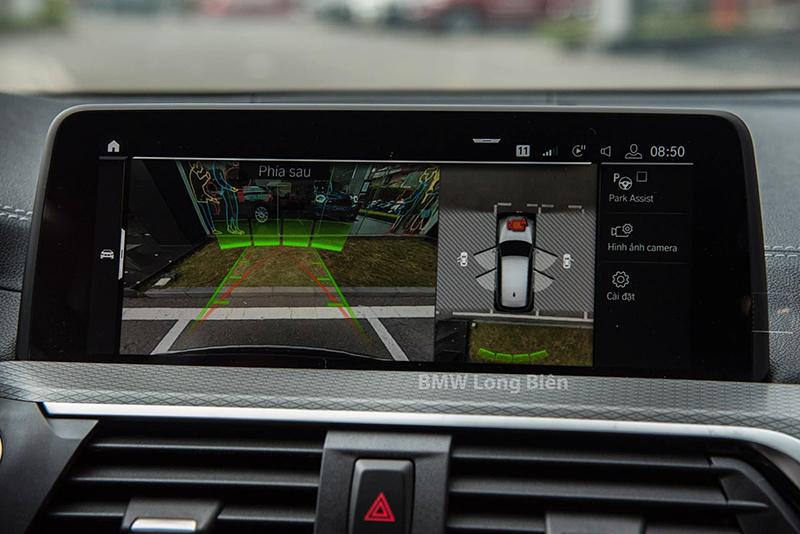camra 360 xe bmw x3 m sport 2021 giaxehoi vn - Chi tiết xe BMW X3 M Sport 2021: Tập trung nâng cấp không gian nội thất
