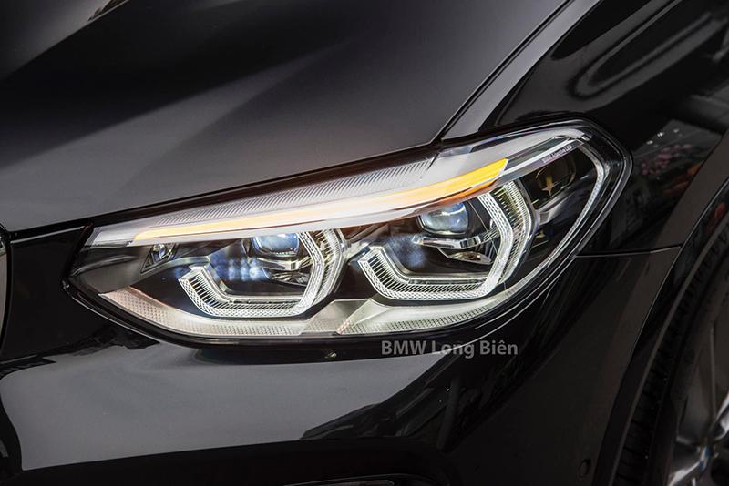 den xe bmw x3 m sport 2021 giaxehoi vn - Chi tiết xe BMW X3 M Sport 2021: Tập trung nâng cấp không gian nội thất