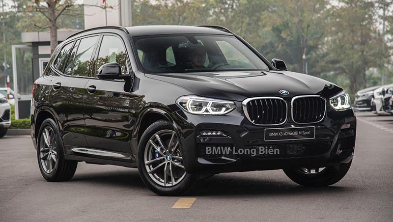 gia xe bmw x3 m sport 2021 giaxehoi vn - Chi tiết xe BMW X3 M Sport 2021: Tập trung nâng cấp không gian nội thất