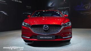 Chi tiết xe Mazda 6 2.5L Signature Premium 2022 - Phiên bản cao cấp nhất của Mazda6