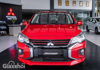 Chi tiết Mitsubishi Attrage Premium 2022: Cạnh tranh khốc liệt phân khúc Sedan hạng B