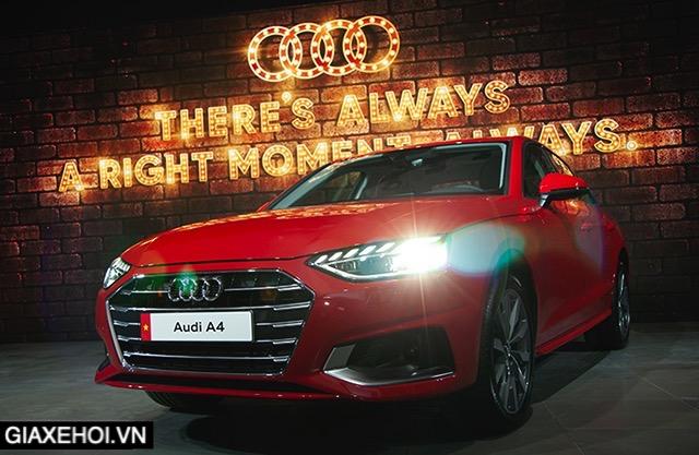 Đánh giá xe Audi A4 2022 - Mẫu Sedan hạng D mang phong cách thể thao mạnh mẽ