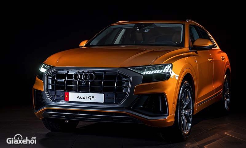Đánh giá xe Audi Q8 2022 - Đối thủ của BMW X6, Mercedes GLE Coupe