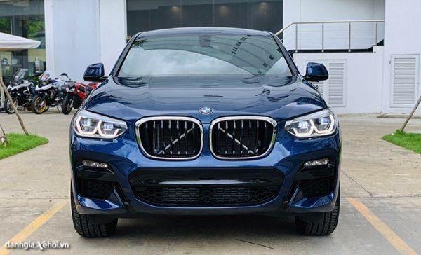 Đánh giá xe BMW X4 2022 xDrive20i M Sport - Đối đầu Mercedes Benz GLC Coupe, Audi Q5