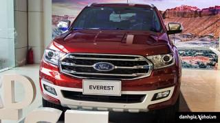 Đánh giá xe Ford Everest 2022 – Đẹp hơn, an toàn hơn