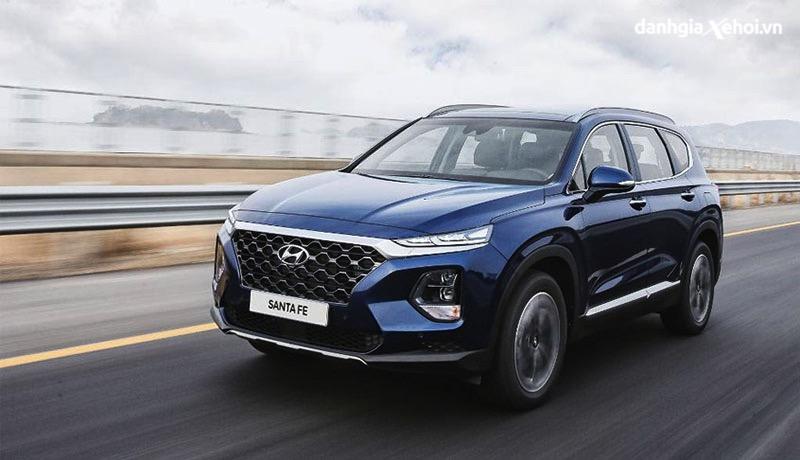 Đánh giá xe Hyundai Santafe 2022 - Đẹp & hầm hố