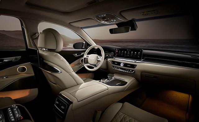 Kia K9 2022 - Chiếc sedan hạng sang đối đầu với Mercedes-Benz S-Class, BMW 7-Series