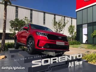 Đánh giá xe Kia Sorento 2022 – Đối thủ nặng ký của Hyundai Santafe, Toyota Fortuner