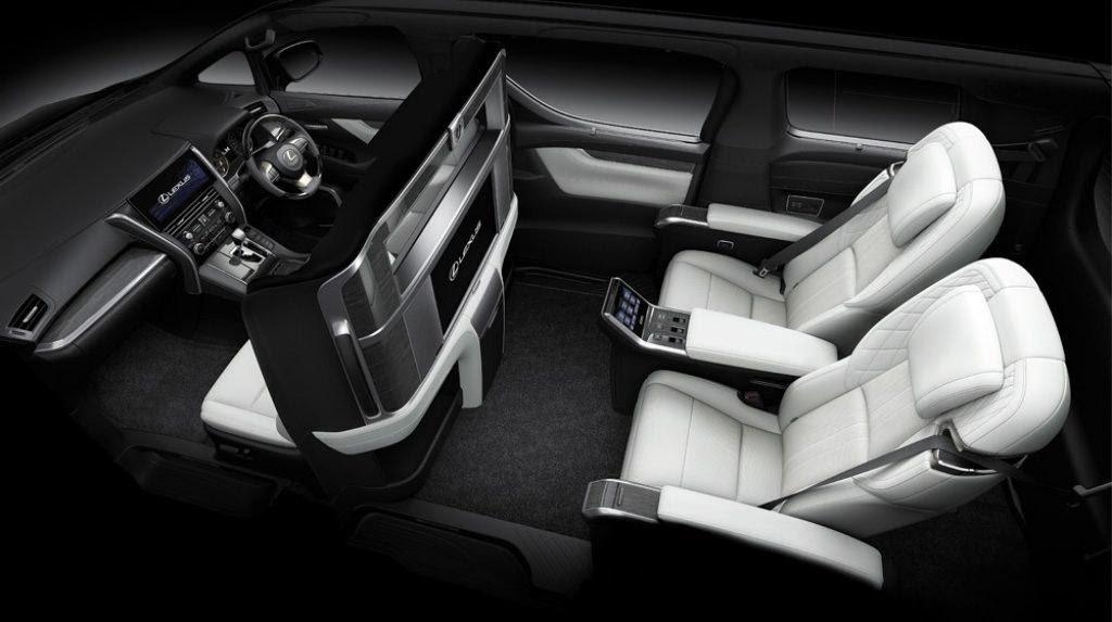 Nội thất Lexus LM350