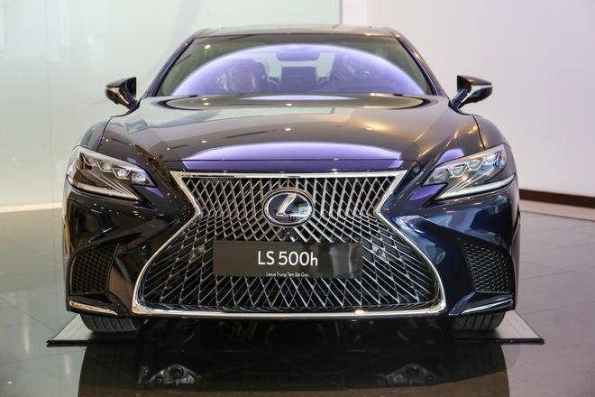 Đánh giá xe Lexus LS500h 2022 - Chiếc Sedan hạng sang đỉnh cao