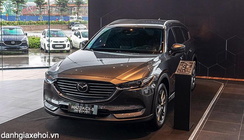 Đánh giá xe Mazda CX8 2022 - SUV 7 chỗ thiết kế đẹp nhất Việt Nam