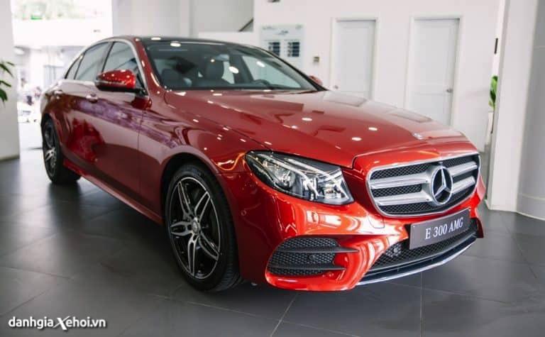 Giới thiệu các mẫu xe Mercedes E Class 2022 đang bán tại Việt Nam