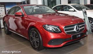Đánh giá xe Mercedes E180 2022 – Tân binh mới dòng E-Class
