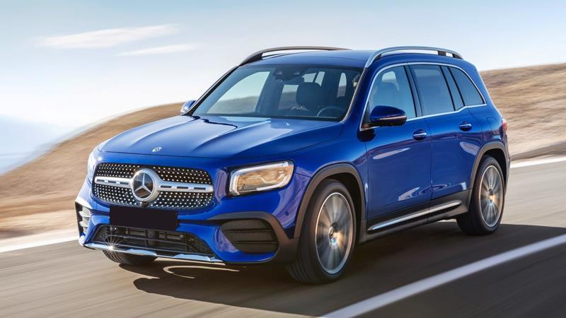 Đánh giá xe Mercedes GLB Class 2022,Xe 7 chỗ hạng sang giá rẻ