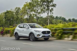 Đánh giá xe MG ZS 2022, Bản nâng cấp nhập khẩu Thái lan ra mắt khách Việt