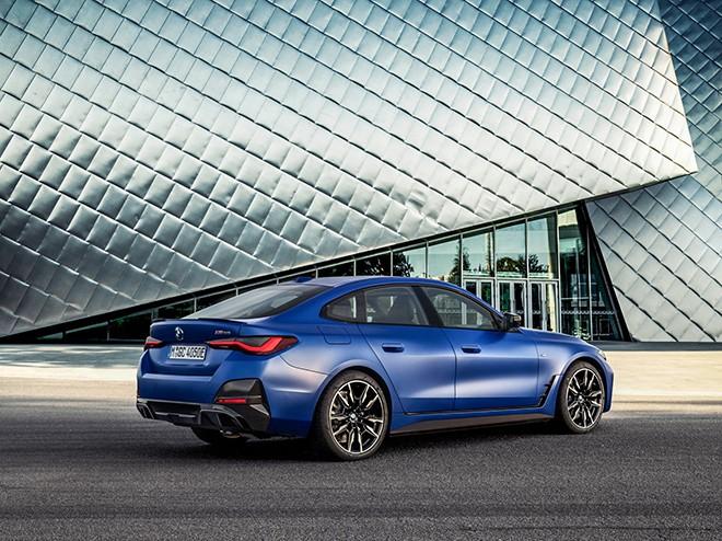 Giới thiệu mẫu xe ô tô điện BMW I4 2022 - Xe coupe 4 cửa ấn tượng
