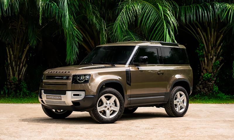 Land Rover Defender 90 2022 bản 3 cửa ra mắt giá từ 3,935 tỷ đồng
