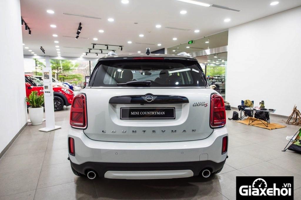 Đánh giá xe Mini Countryman 2022 giá từ 2,44 tỷ đồng