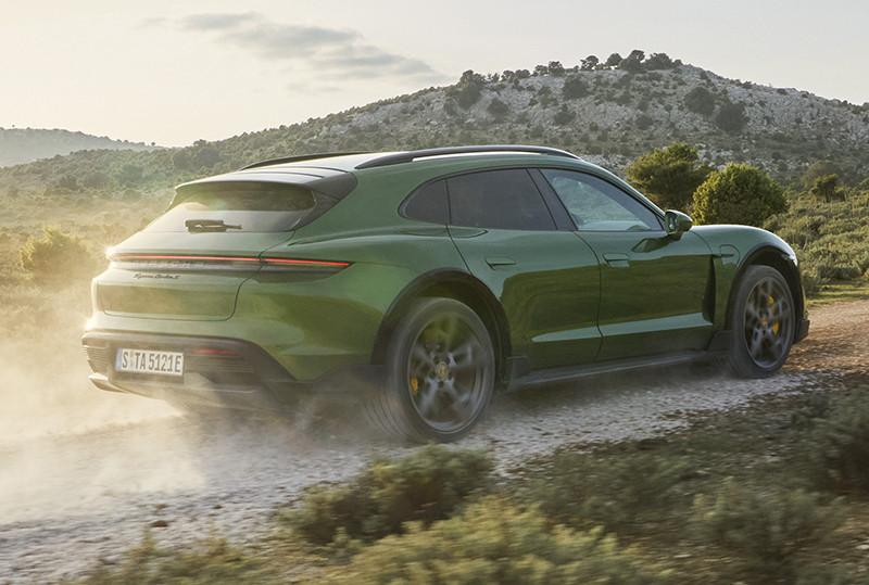 Chi tiết xe thể thao điện Porsche Taycan Cross Turismo 2022 giá từ 5 tỷ tại Việt Nam