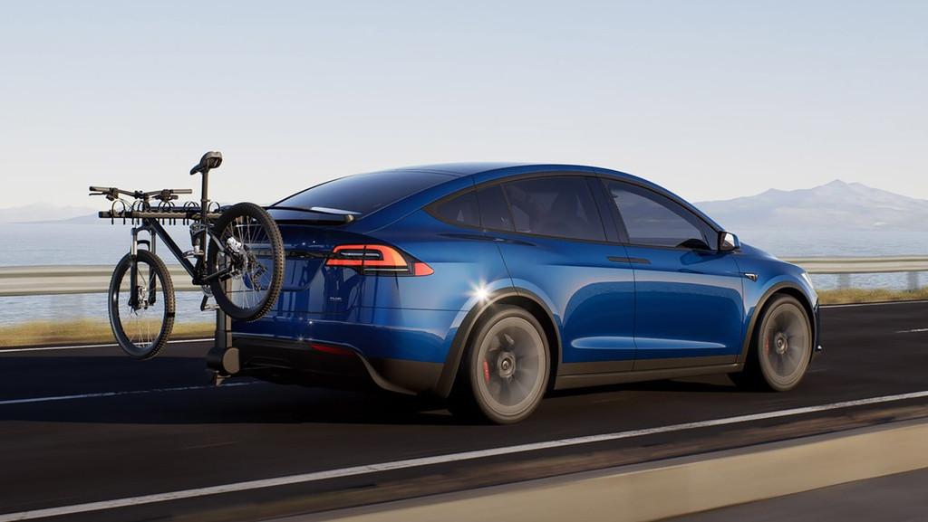 Chi tiết xe Tesla Model X 2022 mới ra mắt- mẫu xe điện được các đại gia Việt yêu thích