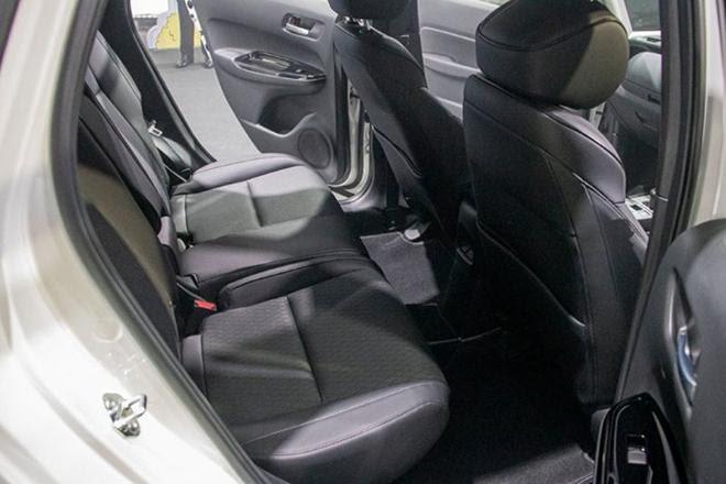 Xe được trang bị ghế Ultra Seat đặc trưng của Honda