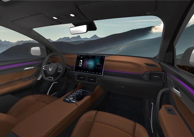 Phac thao Vinfast VF32 noi that xe giaxehoi vn - Giới thiệu 3 mẫu xe Ô tô điện Vinfast: Công nghệ ấn tượng, di chuyển được 300 - 500km mỗi lần sạc