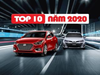 Top 10 xe bán chạy nhất năm 2020: Lần đầu tiên cho xe thương hiệu Việt