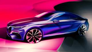 VinFast Coupe 2 cửa lộ diện bản thảo thiết kế 3D