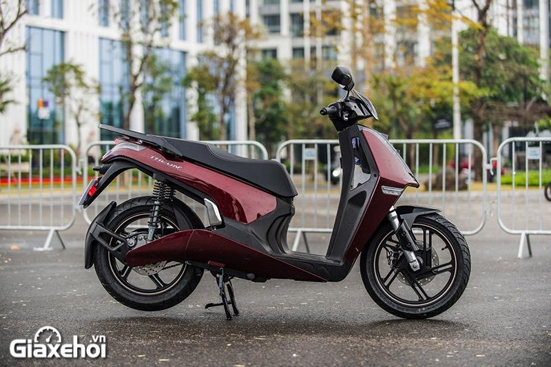 Hong xe Vinfast Theon 2021 Giaxehoi vn - Giới thiệu 2 mẫu xe điện Vinfast mới ra mắt - bộ đôi xe máy điện Feliz và Theon