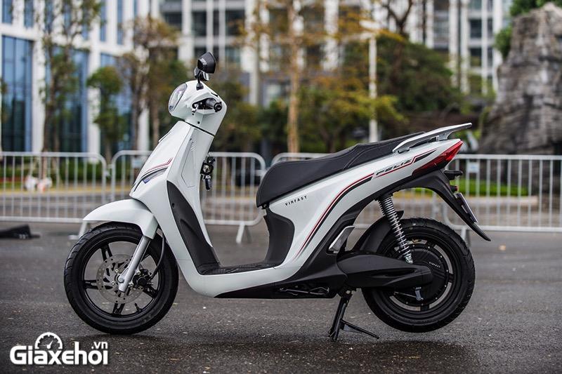 Hong xe may dien Vinfast Feliz 2021 Giaxehoi vn - Giới thiệu 2 mẫu xe điện Vinfast mới ra mắt - bộ đôi xe máy điện Feliz và Theon