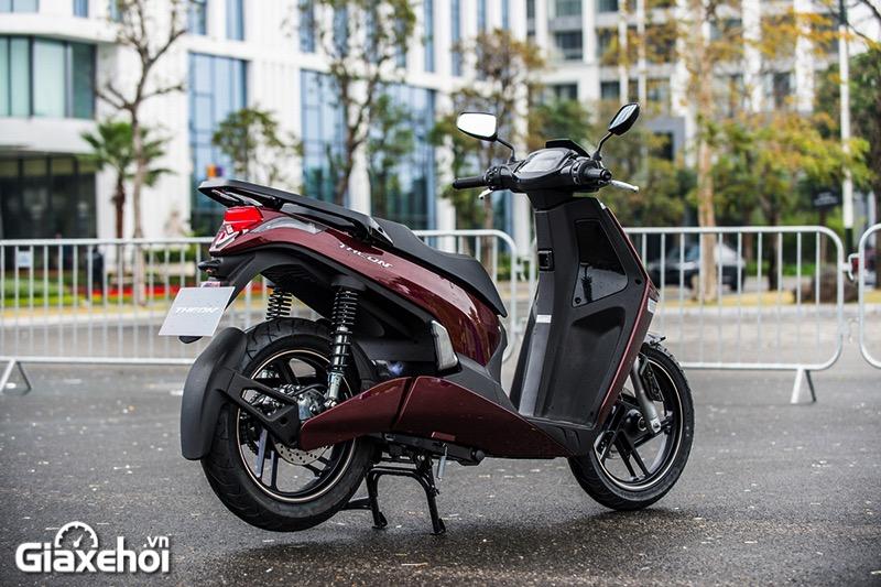 Mam xe Vinfast Theon 2021 Giaxehoi vn - Giới thiệu 2 mẫu xe điện Vinfast mới ra mắt - bộ đôi xe máy điện Feliz và Theon