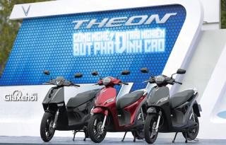 Giới thiệu mẫu xe máy điện Vinfast Feliz và Theon