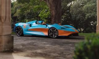 McLaren Elvo Gulf Theme xuất hiện tại Sydney, Australia. Ảnh: McLaren.