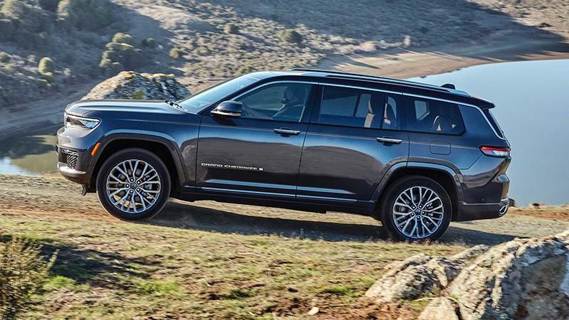 """Chi tiết xe Jeep Grand Cherokee L 2022 sắp bán tại Việt Nam: động cơ """"khủng"""", giá """"chát"""", chỉ dành cho dân chơi"""