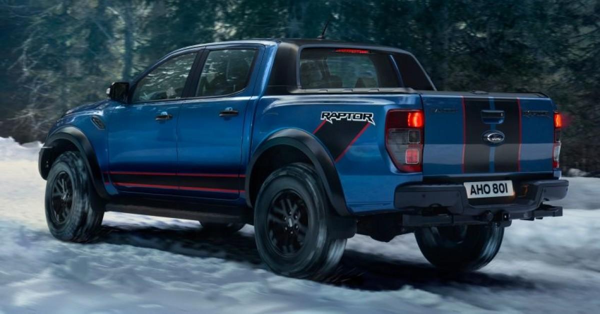 Đánh giá Ford Ranger Raptor Special Edition 2022: Sự khác biệt ấn tượng
