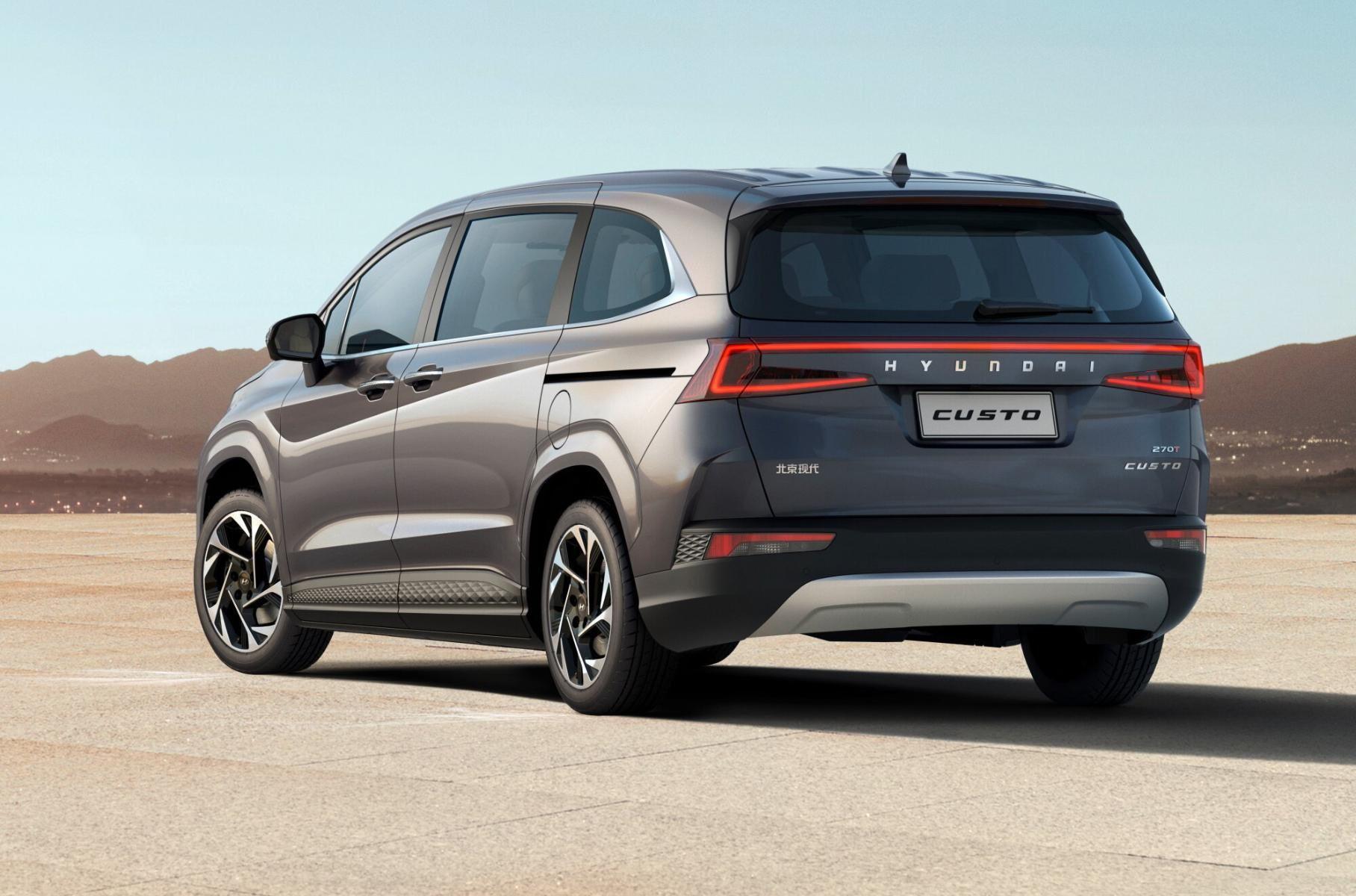 """Soi"" chi tiết Hyundai Custo 2022: MPV ""sang chảnh"" đe dọa Kia Carnival"