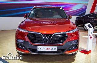 Giới thiệu các phiên bản xe Vinfast Lux SA2.0 2022
