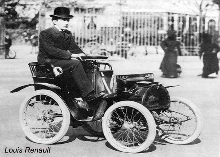 Nhà sáng lập Louis Renault